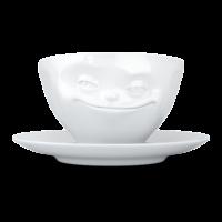 """Чайная пара Tassen """"Улыбочка"""""""