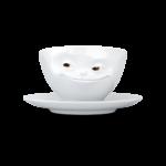 Чайная пара Tassen Улыбка серия Цветные глазки