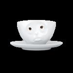 """Чайная пара Tassen """"Удивление"""" серия Цветные глазки"""